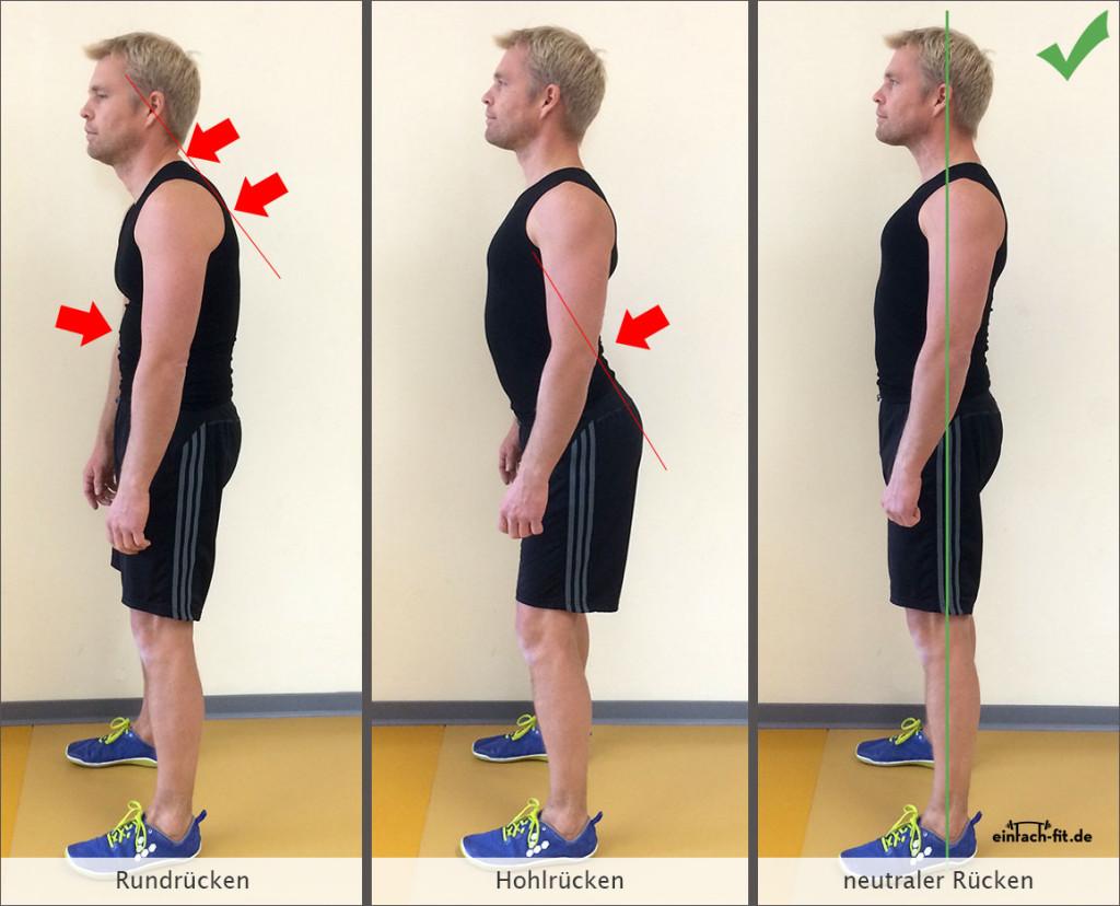 Körperspannung aufbauen in 4 Schritten   einfach-fit.de
