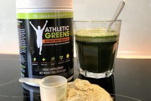 Athletic Greens Erfahrungen - Zubereitung
