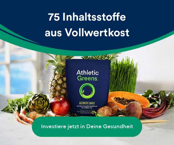 Athletic Greens - Deine leckere Routine für eine gesunde Zukunft